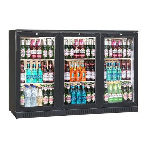 Blizzard Bar 3  Triple Door Bottle  Fridge